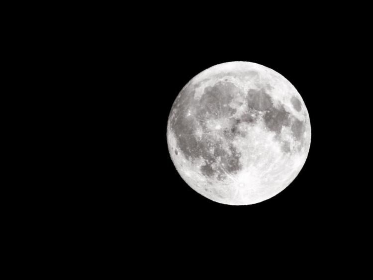 Photo moon, day full. Nikon coo - chesuko | ello