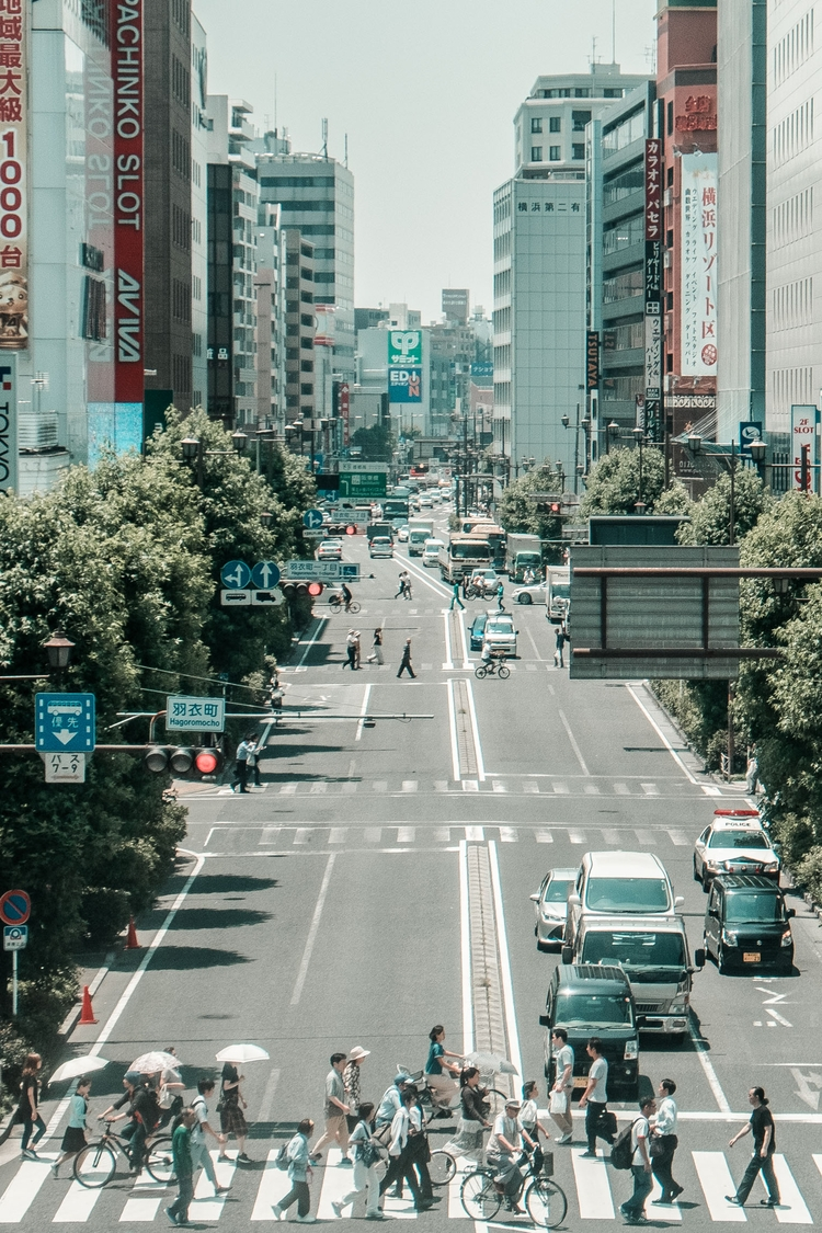 tokyo, japan, fujifilm, portra - eastlos | ello
