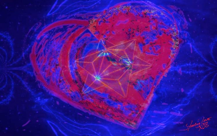 Heart 2 347 ~ Sterling Love Mat - sterlinglove | ello