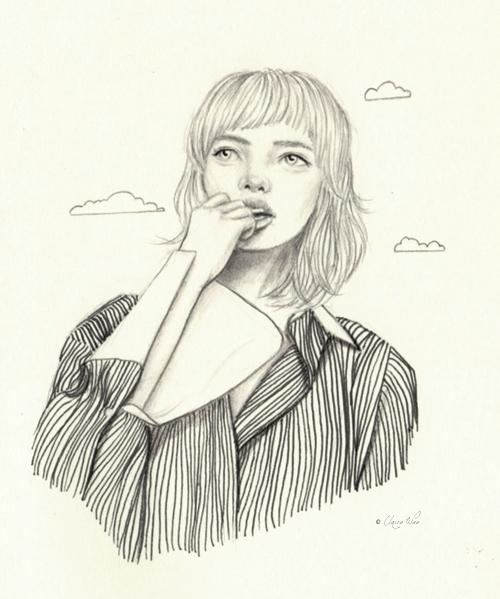 'Lost - mondayface, drawing, sketch - j0eyg1rl   ello
