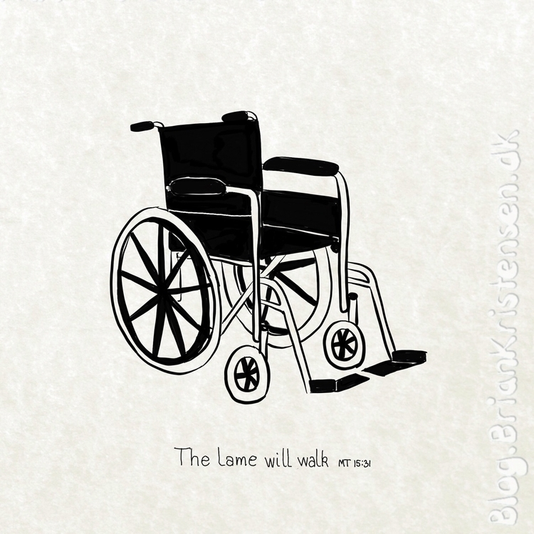 Empty - wheelchair - art2u | ello