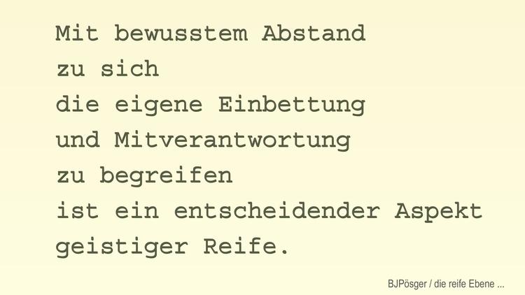 01 - menschliche_Reife - bringfried | ello