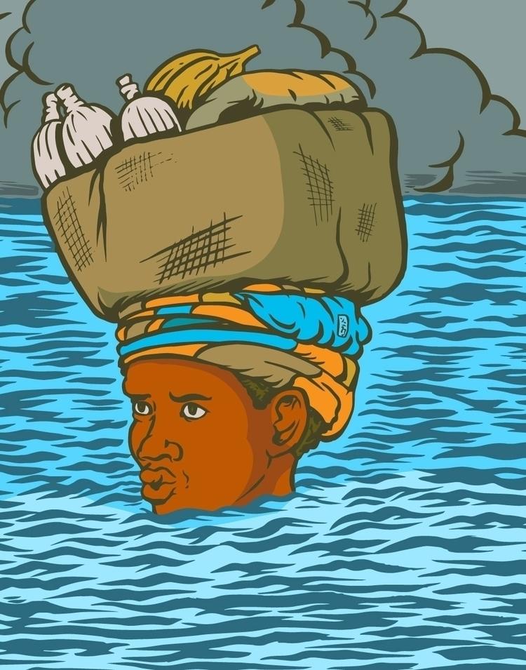Surviving Irma - illustration - thomcat23 | ello
