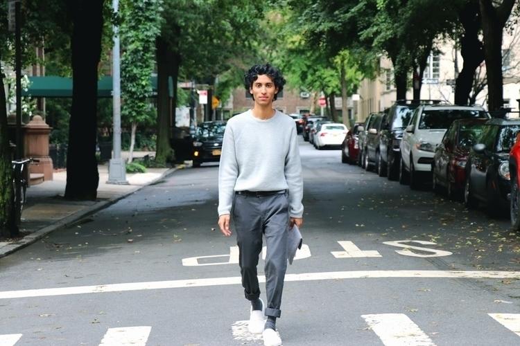 Walking grey - model, photography - _thewayofken | ello