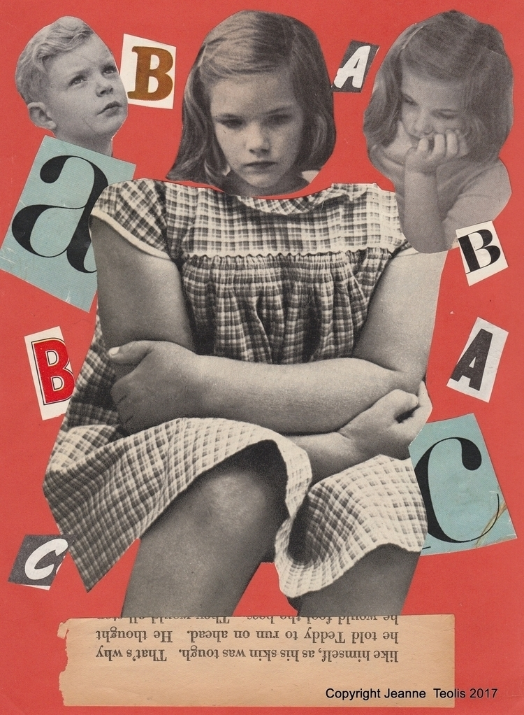 1st Day School Collage created  - jeanneteolis | ello