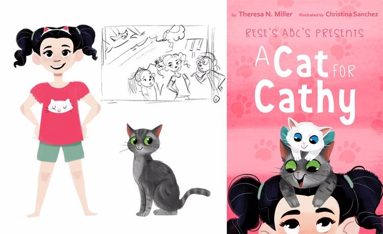 Cat Cathy Ebook illustrated yea - unicorndoodles | ello