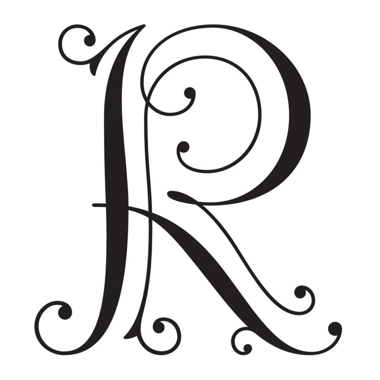 Ruby Blue Liqueur monogram - robclarketype | ello