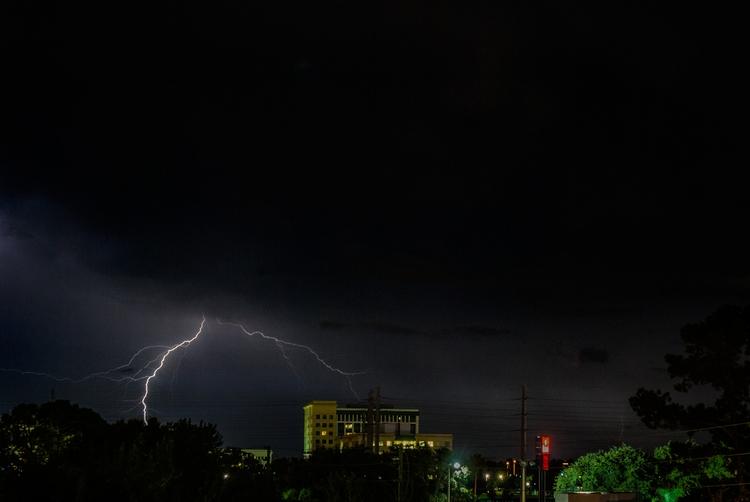 night earth lightning strike - Orlando - christofkessemeier | ello