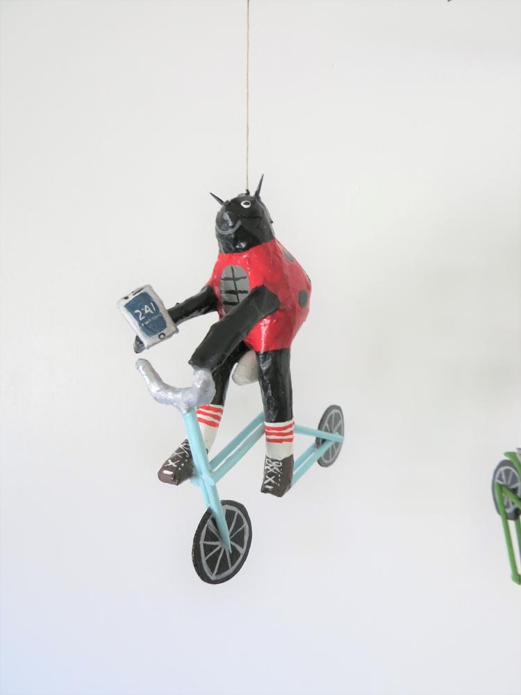 hey ladybug, paper mache art ji - jikits | ello