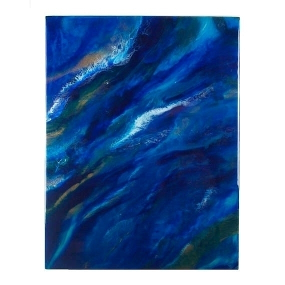 Swallowed Sea 18x24 High gloss - fluiddynamics | ello
