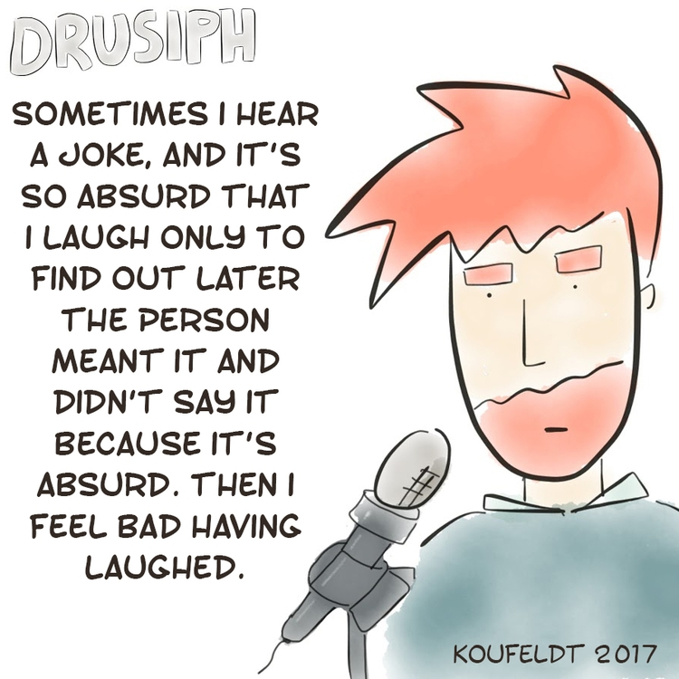 drusiph, wednesday, comic, comicstrip - drusiph | ello