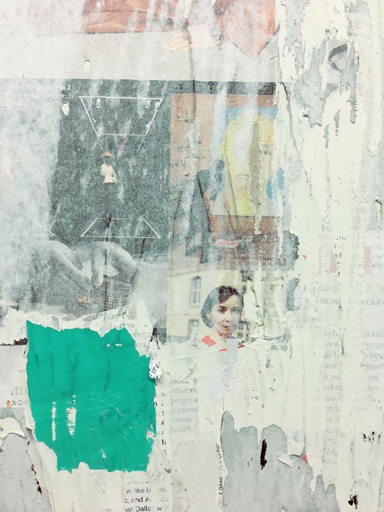 abstract, art, collage, detail - jkalamarz | ello