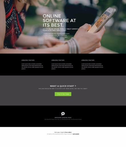 Panther Free DIY Website Builde - gopanther | ello