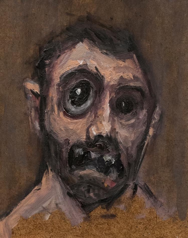 Goya Portrait) / Oil Board 20.5 - armandocabba | ello