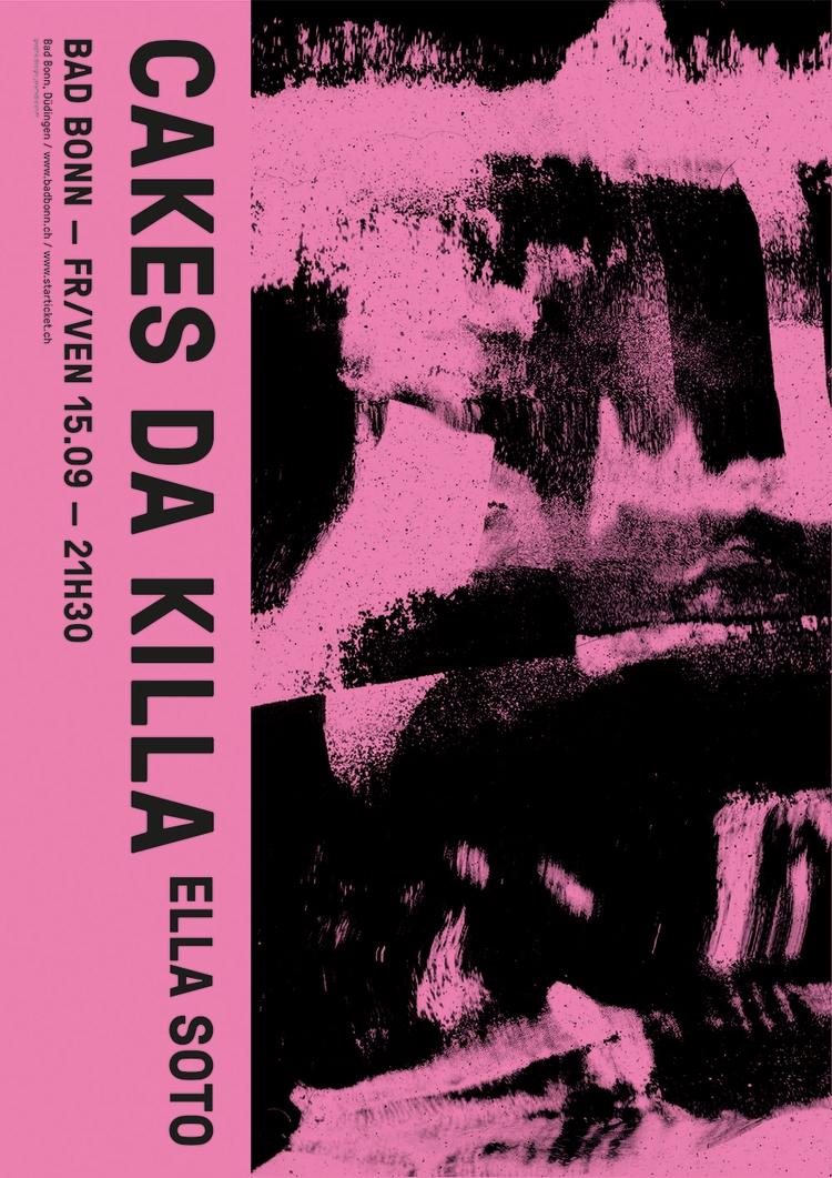 Poster Cakes Da Killa, live Bad - jeromebizien | ello