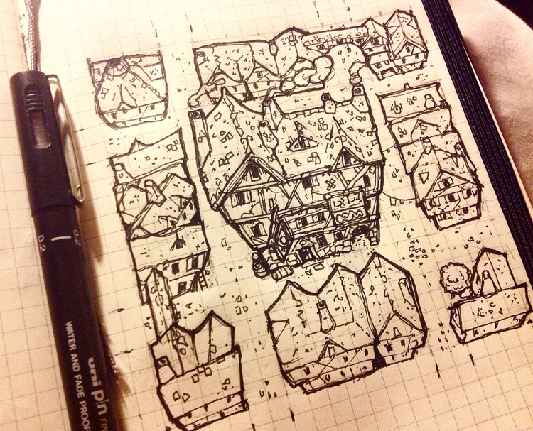 style work fantasy city geomorp - billiambabble | ello