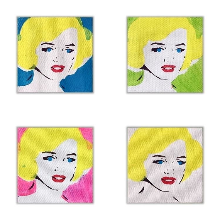 Preorders Mini Marilyn Painting - lizkellyzook | ello