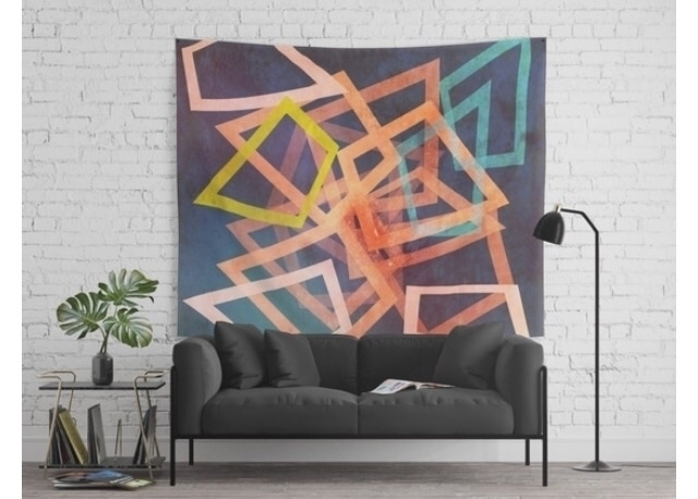 Figur flow wall tapestry. tapes - trinkl | ello