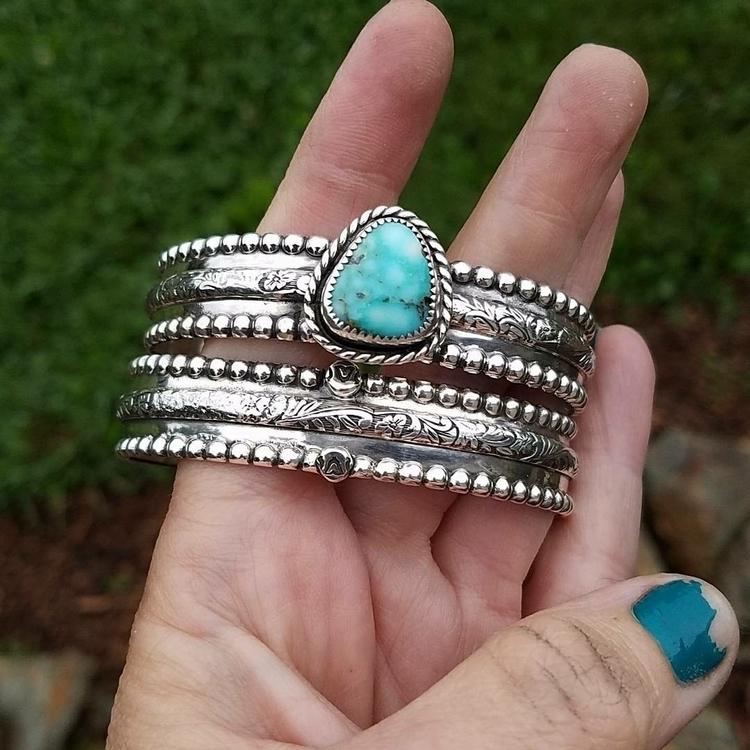 cuffs bold handmade unique - sterlingsilver - eclecticblingjewelry | ello