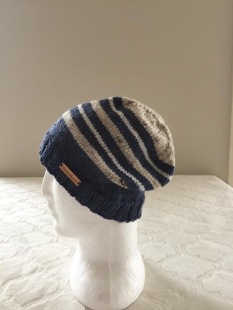 boys - wool, beanie, blue, knitting - siennaknits | ello