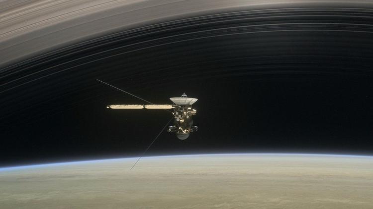 NASA dirige la nave Cassini hac - codigooculto   ello