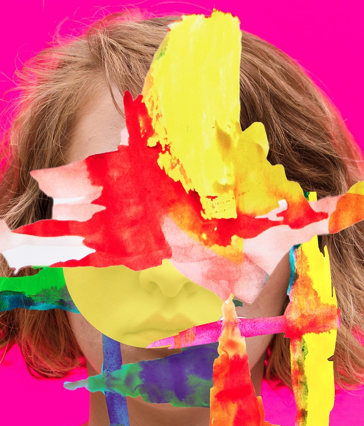layers, collage, art, colorful - jasminpelz | ello