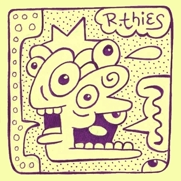 Doodle - rthies, cartoonism, drawing - rthies   ello