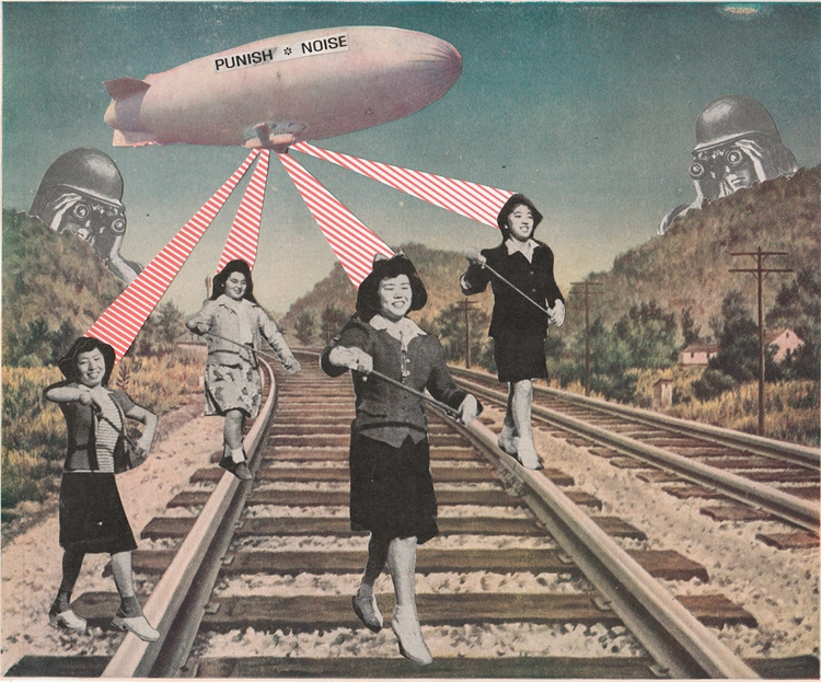 Punish * Noise . Paper collage - ctrl-alt-delange | ello