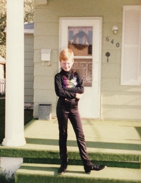 - 1986. wearing tight pants seq - loganlynn | ello