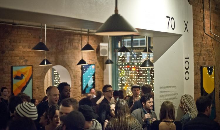 70x100 collaborative exhibition - utile | ello