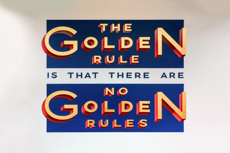 "golden rule rules"" — George Ber - utile | ello"