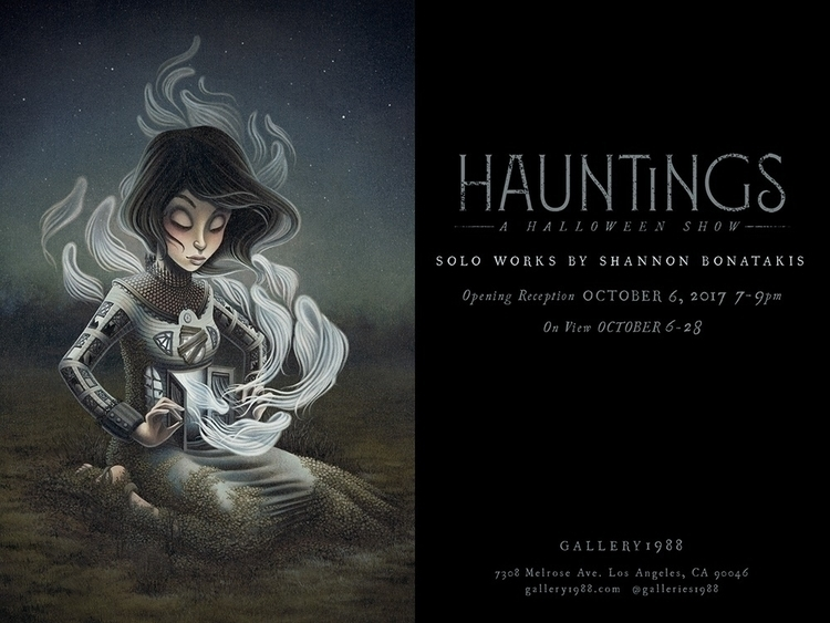 solo show Hauntings opens weeks - shannonbonatakis | ello