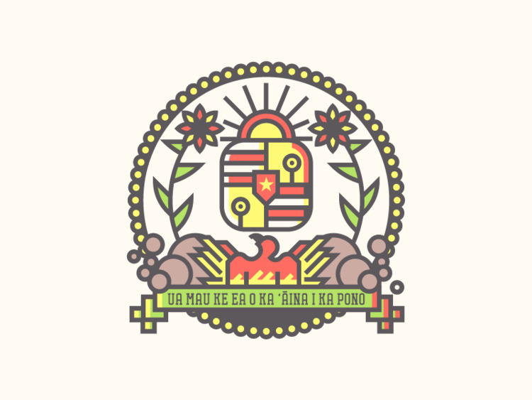 Hawaii Crest (216/365 - darumacreative | ello