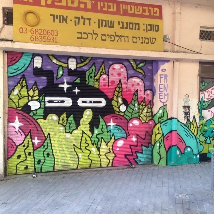 spray painted today - frenemy | ello