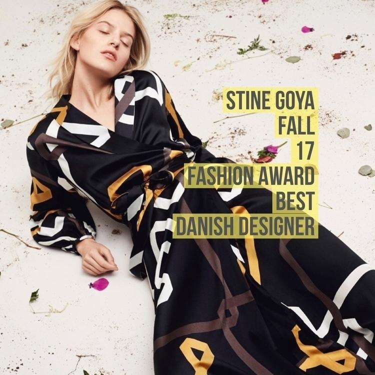 model, Stine Goya graduated St  - canonblanc | ello