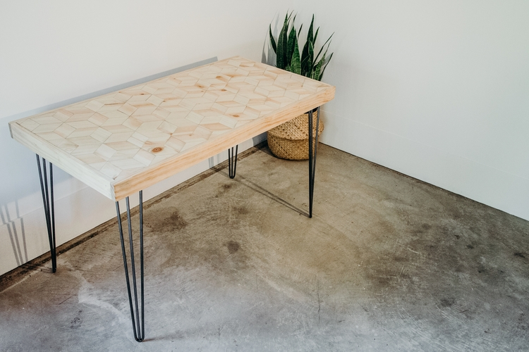Pine raw steel handmade modern  - chloejennings | ello