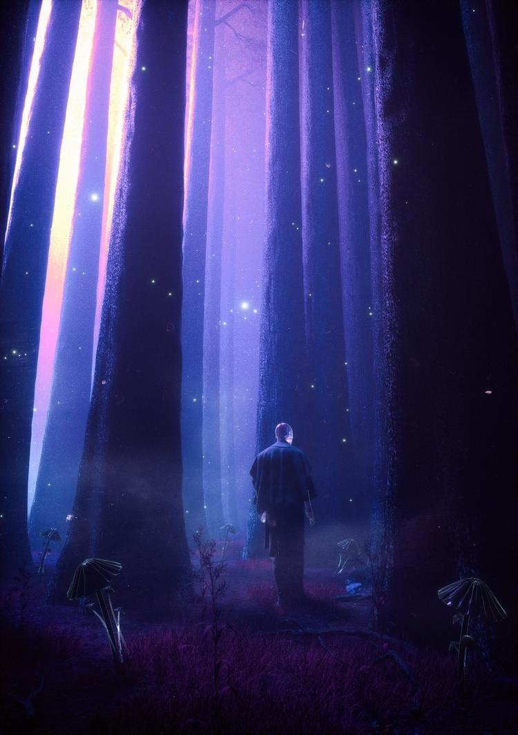 NIGHTWALKER// Day 749 - cinema4d - fvckrender | ello