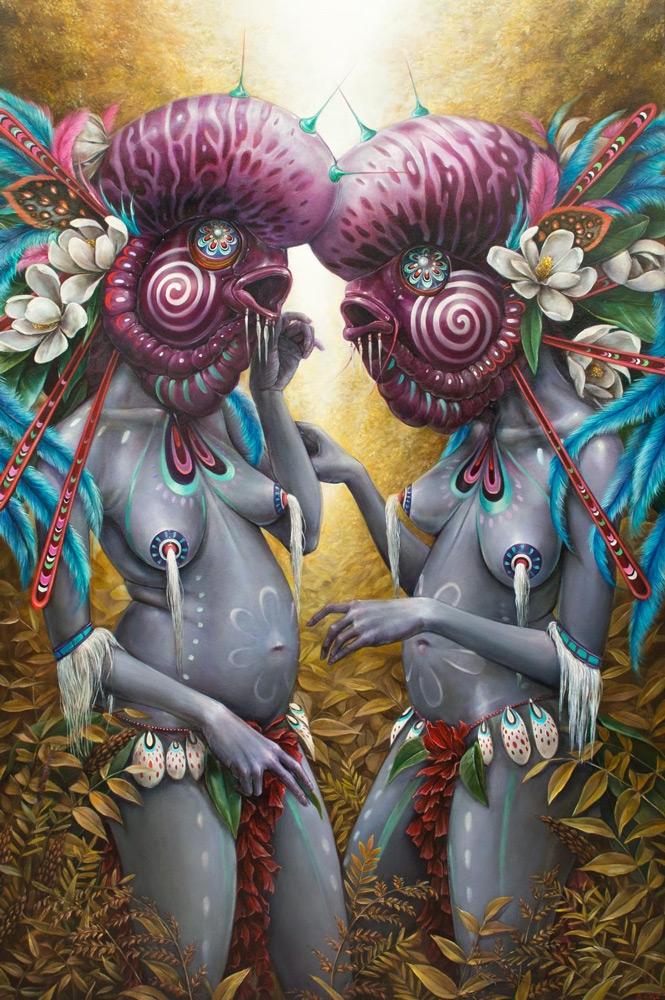 Dreamweavers 36x54 oil canvas 2 - hannahfyata | ello