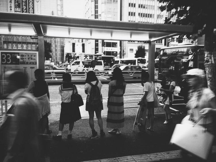 Tokyo - blackandwhite, ellostreet - tsukpo | ello