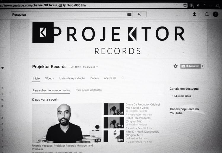 Projektor Records, Indie label  - ricardo_vasques | ello