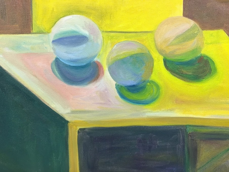 oil painting. balls - helenaugusta | ello