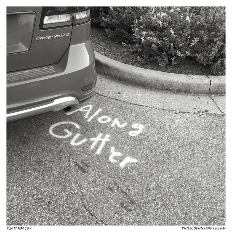 Crossroad Gutter - urban, parkinglot - jascox | ello