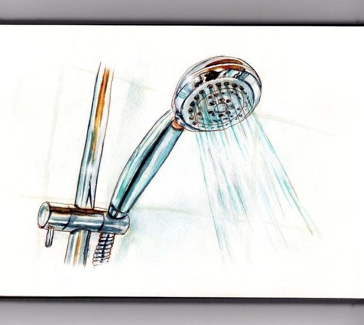 Singing Shower  - doodlewashclub - doodlewash   ello