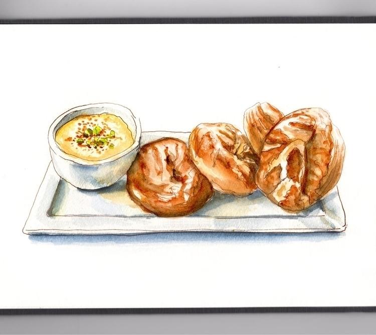Freshly Bread  - doodlewashclub - doodlewash | ello