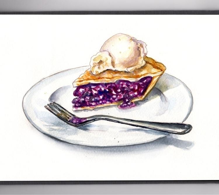 Perfectly Baked Pie  - DoodlewashClub - doodlewash | ello