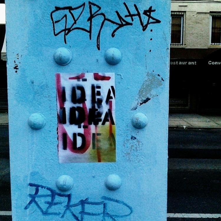 Street Art Sticker - anthonycandkarenm   ello