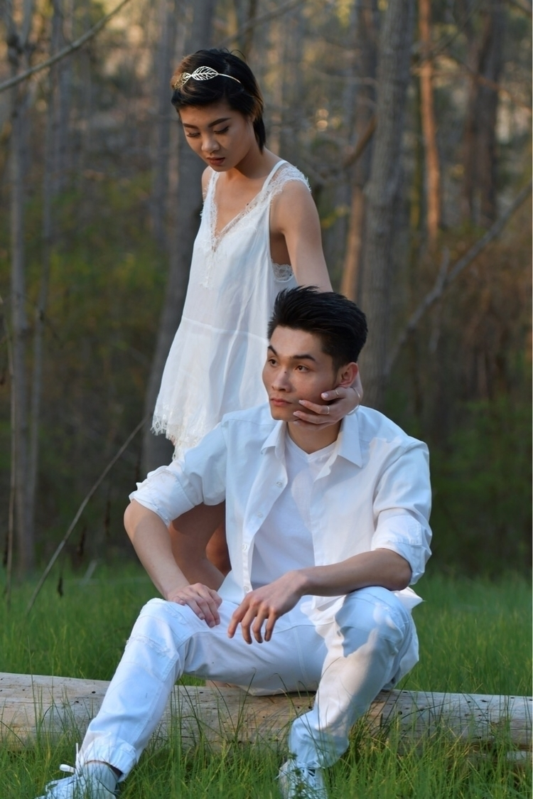 Yah touch face act cool - modeling - tuananguyen | ello