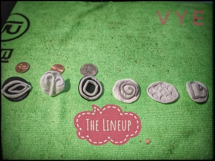Making stamps work - Clay, PolymerClay - vyache | ello