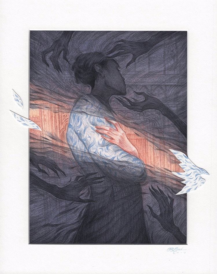 Dark Spirits' Rovina Cai, Day O - geekynerfherder | ello