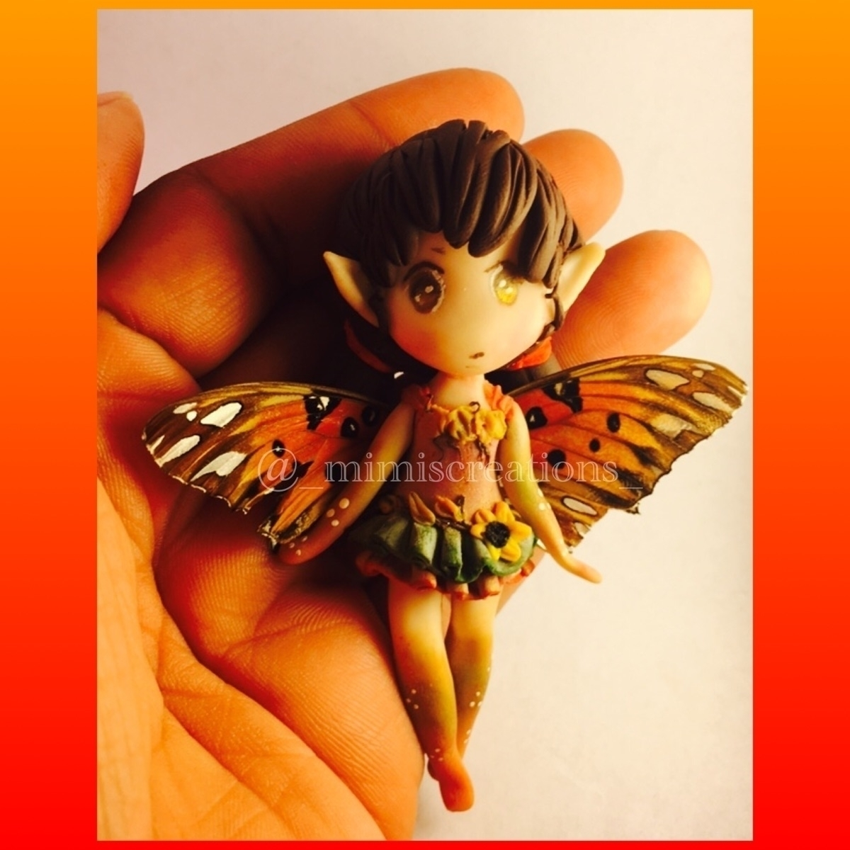 Fall fairy - polymerclayart, polymerclay - mimiscreations   ello